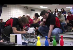 Students Build Robots & Compete